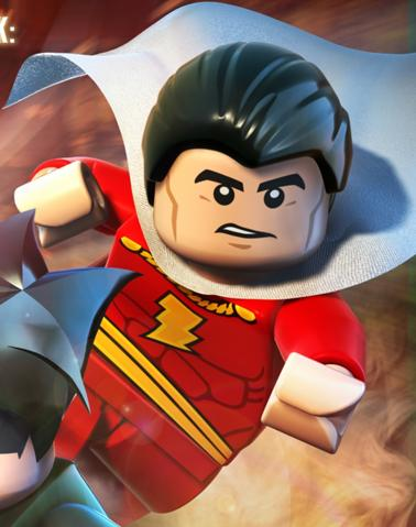 Billy Batson (Lego Batman)