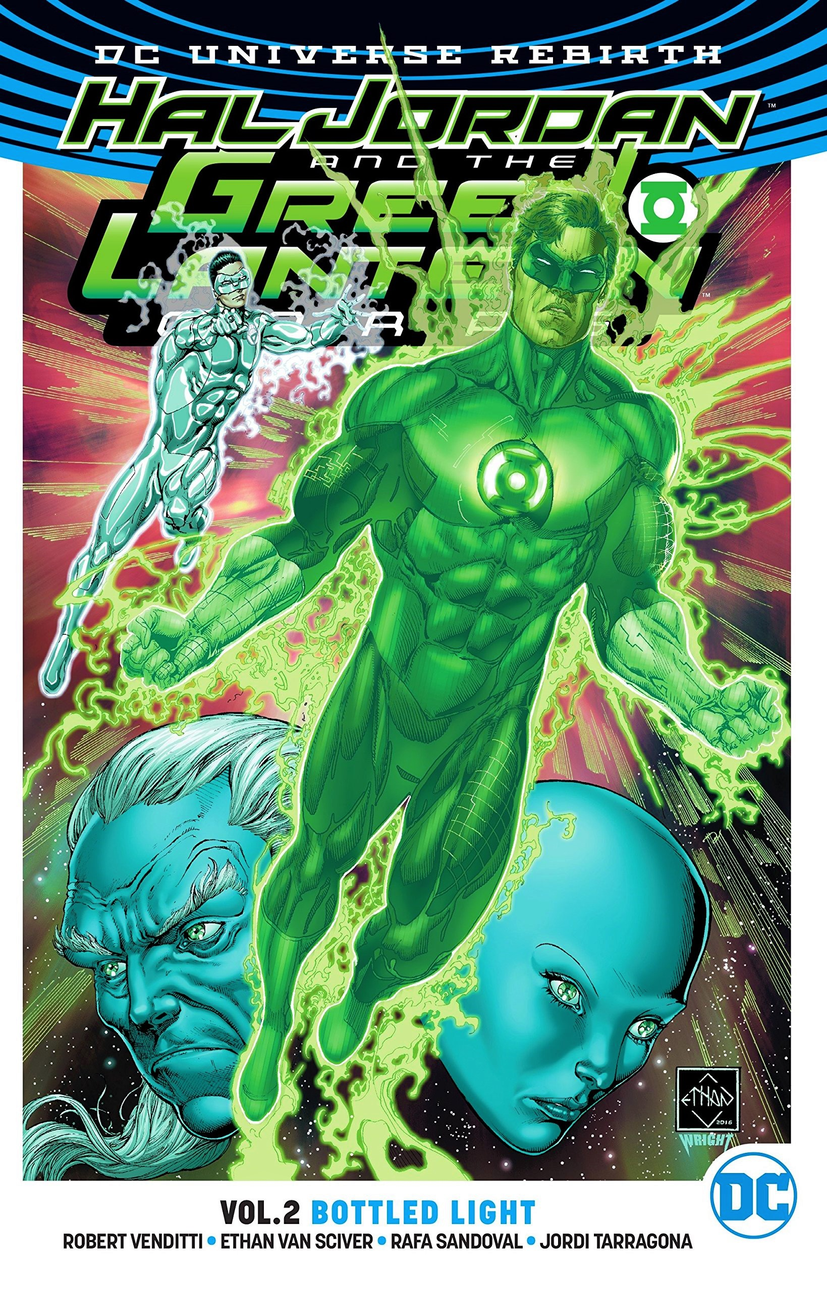 Hal Jordan and the Green Lantern Corps: Bottled Light (Collected)