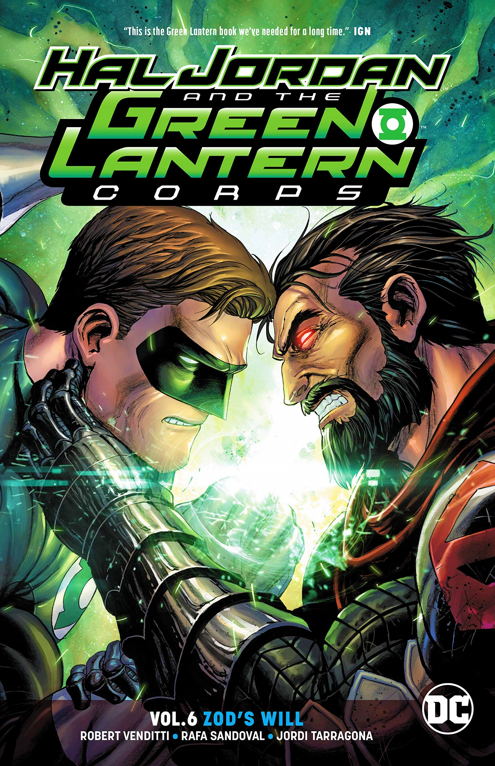 Hal Jordan and the Green Lantern Corps: Zod's Will (Collected)