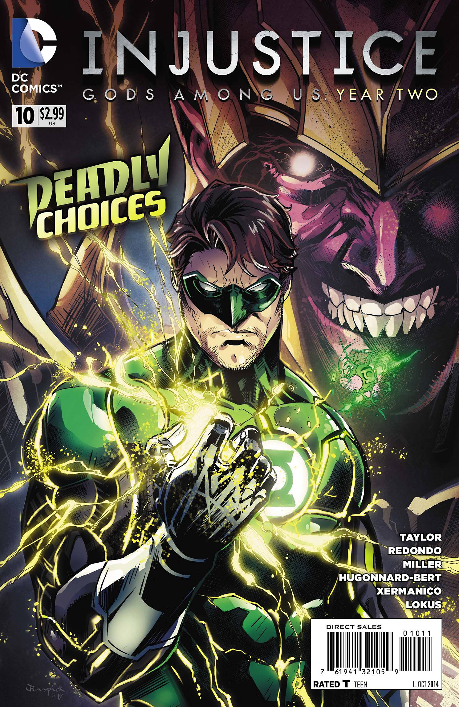 Injustice: Gods Among Us: Year Two Vol 1 10