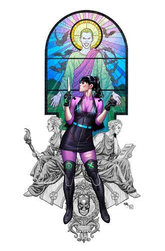 Textless Exclusive Comics Elite Frank Cho & Sabine Rich Variant B