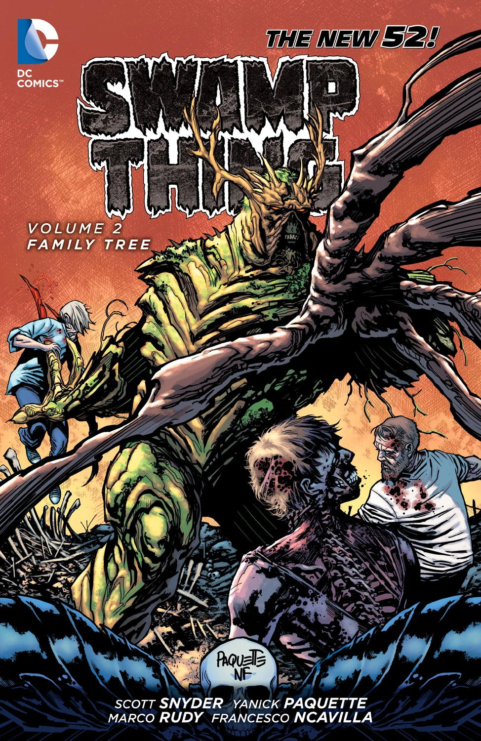 Swamp Thing: Family Tree (Collected)