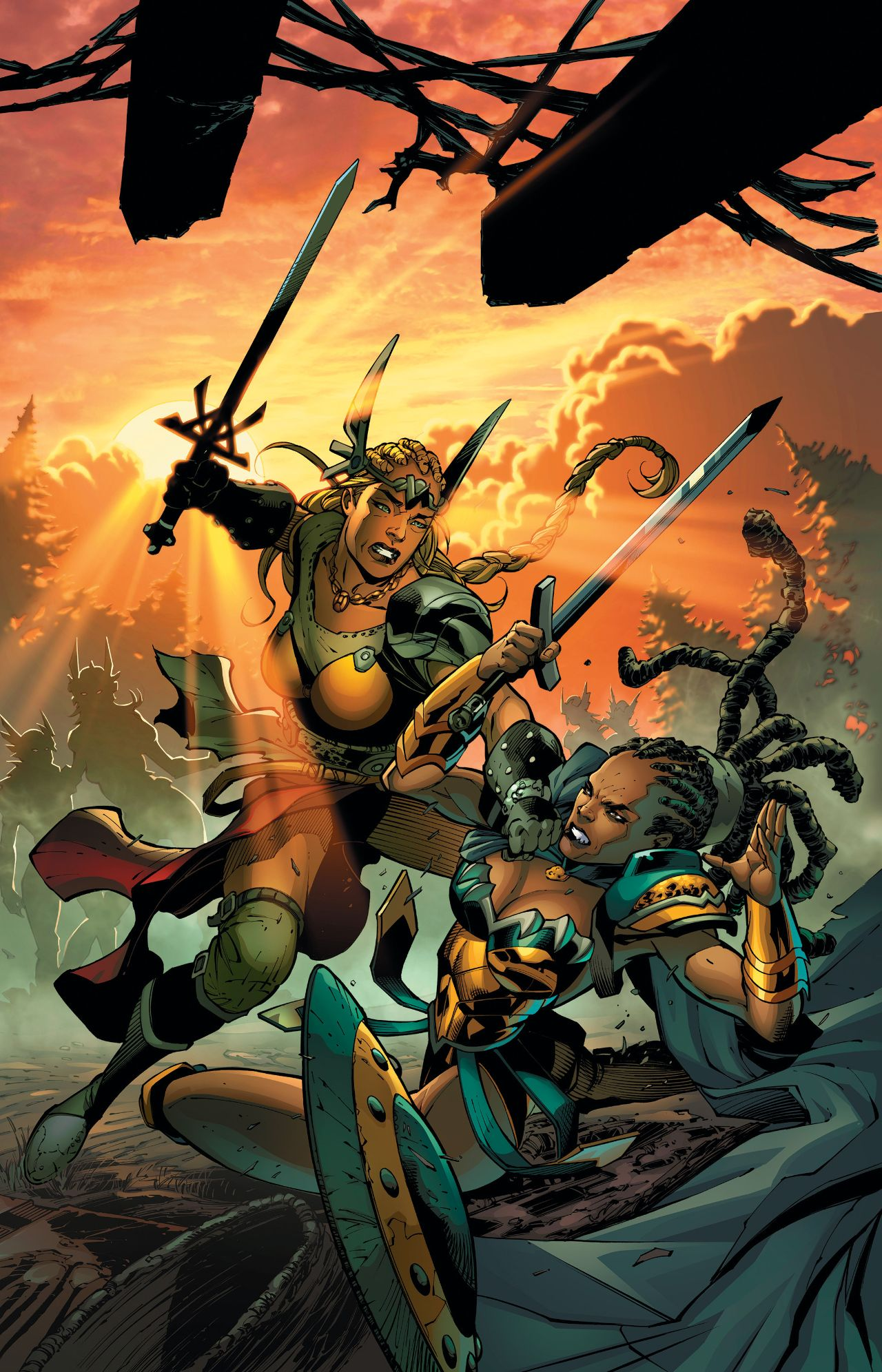 The Odyssey of the Amazons Vol 1 3 Textless.jpg