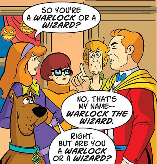 Warlock the Wizard (Scooby-Doo Team-Up)