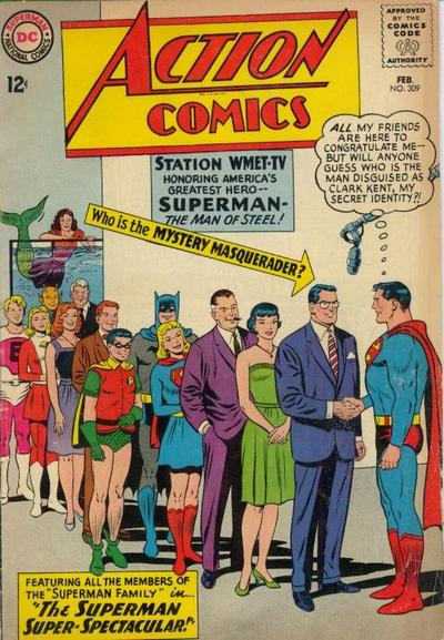 Action Comics Vol 1 309