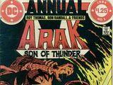 Arak: Son of Thunder Annual Vol 1 1