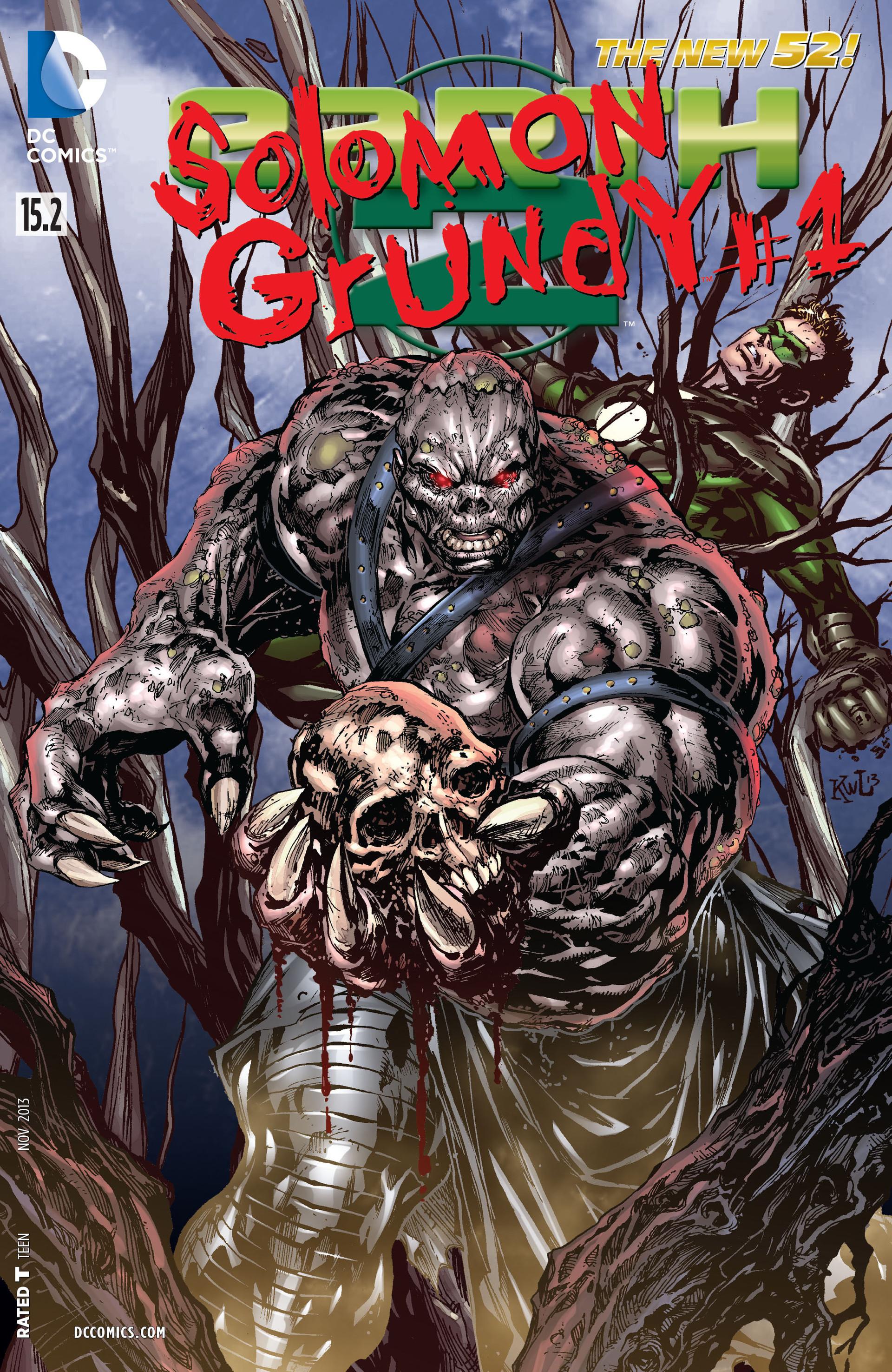 Earth 2 Vol 1 15.2: Solomon Grundy
