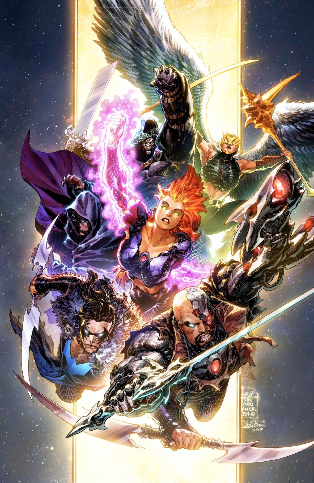 Justice League Vol 4 57 Textless Variant.jpg