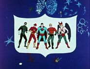 Justice League of America Filmation Adventures 002