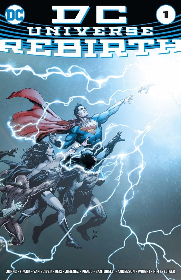DCU: Rebirth Vol 1 1