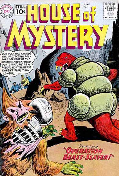 House of Mystery Vol 1 111