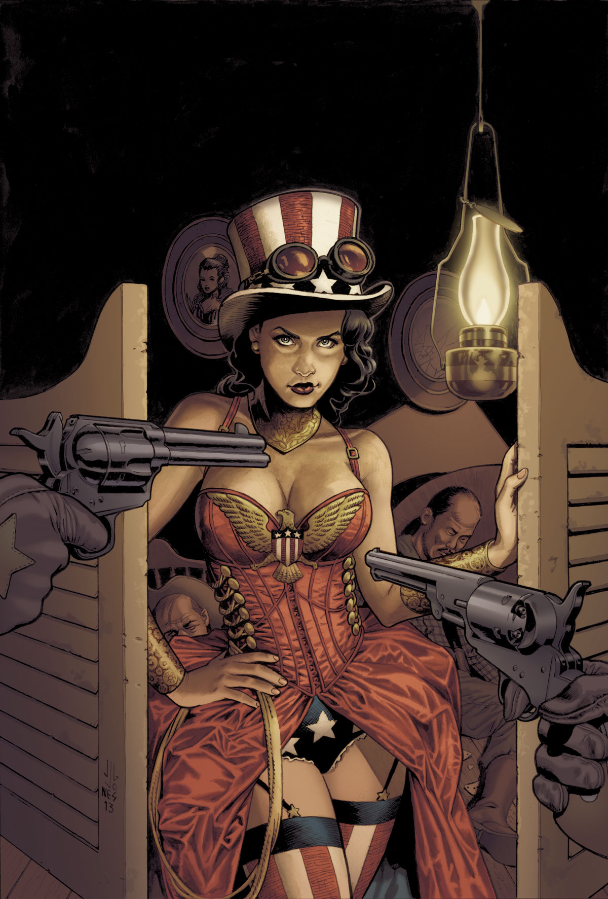 Wonder Woman Vol 4 28 Textless Steampunk Variant.jpg