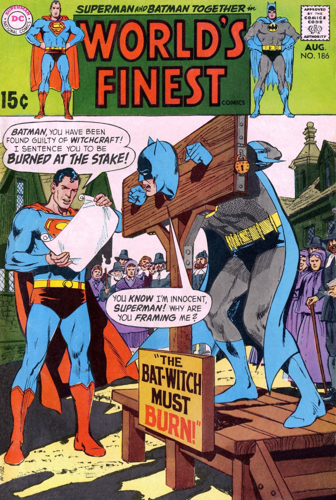 World's Finest Vol 1 186