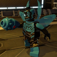 Blue Beetle Lego Batman 001