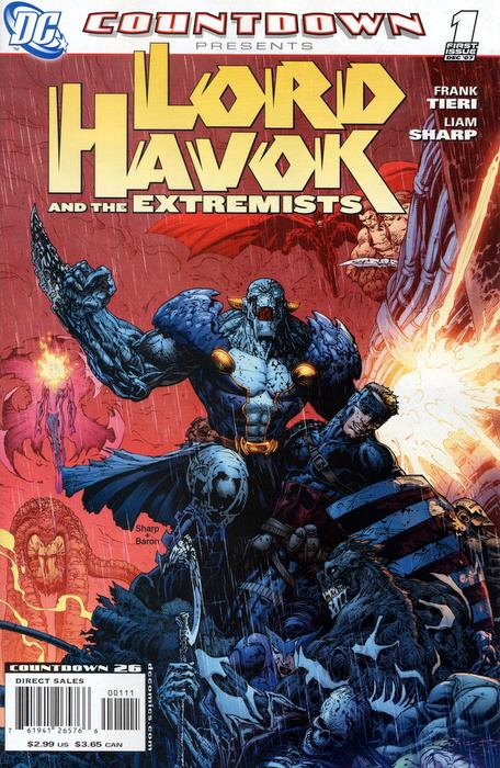 Countdown Presents: Lord Havok and the Extremists Vol 1 1