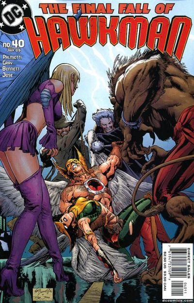 Hawkman Vol 4 40