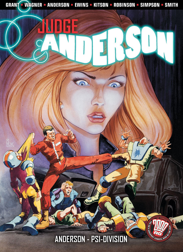 Judge Anderson: Anderson, Psi-Division (Collected)
