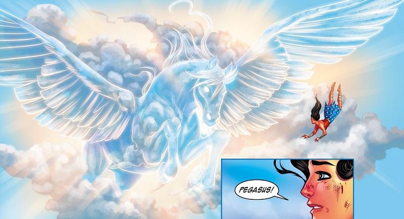 Pegasus (The Legend of Wonder Woman)