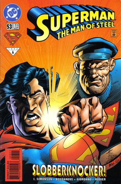 Superman: The Man of Steel Vol 1 53