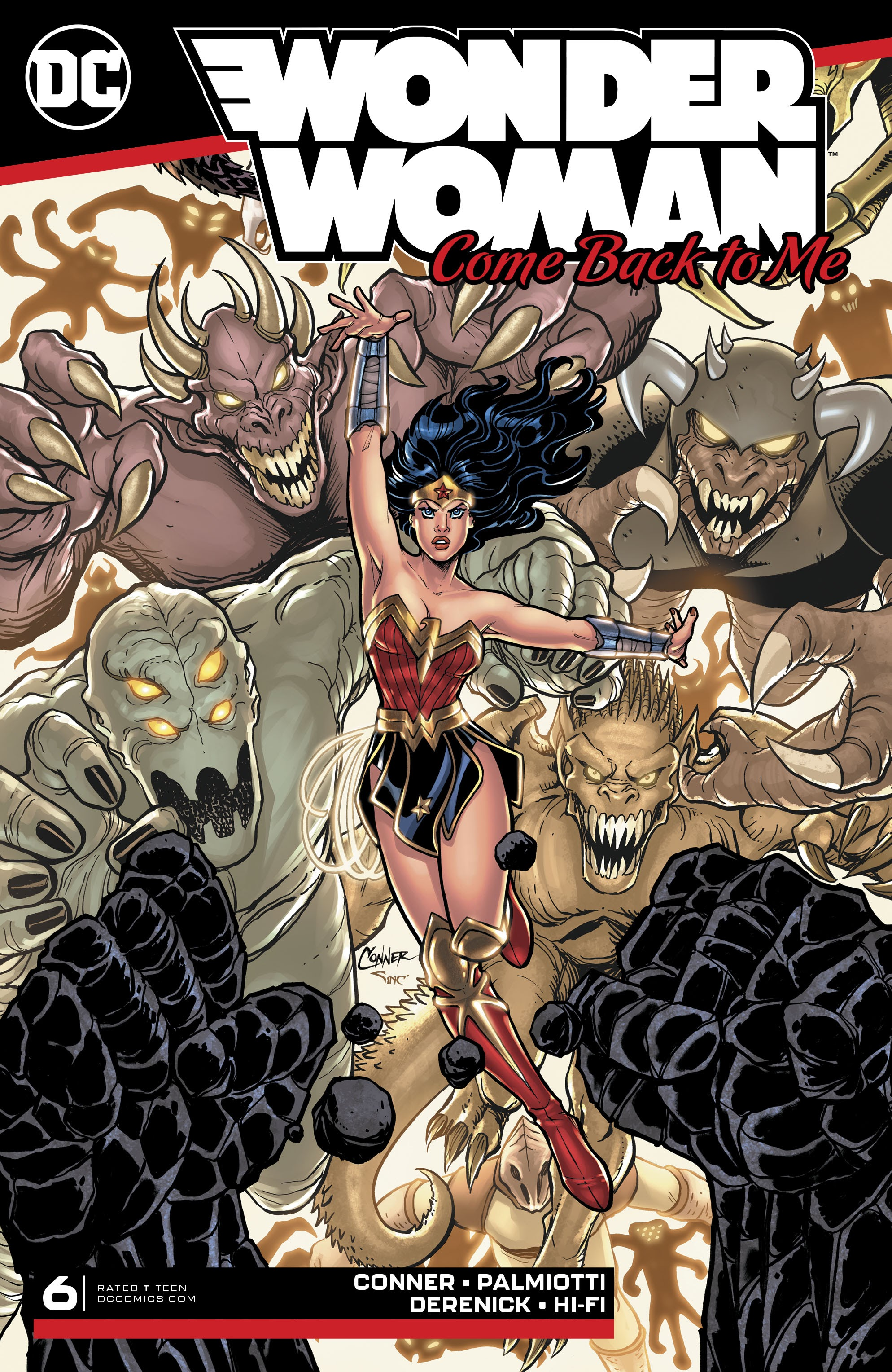 Wonder Woman: Come Back to Me Vol 1 6