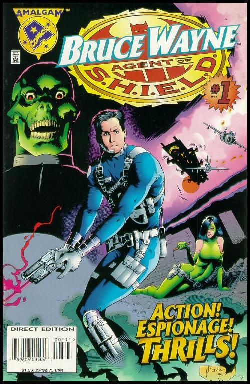 Bruce Wayne, Agent of S.H.I.E.L.D. Vol 1 1