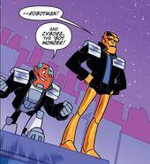 Clifford Steele Teen Titans Go! TV Series 001