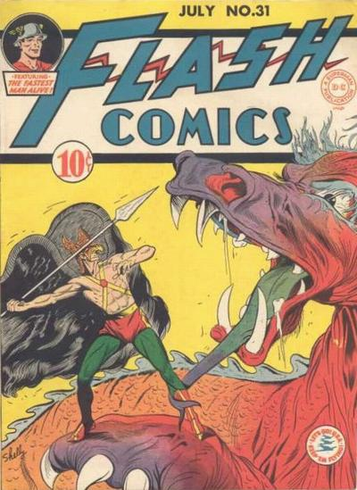 Flash Comics Vol 1 31
