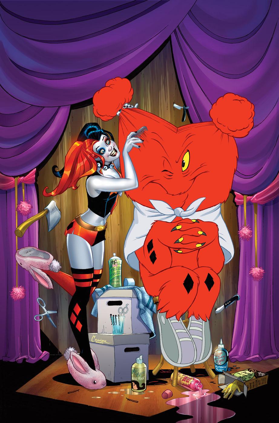 Harley Quinn Vol 2 22 Textless Looney Tunes Variant.jpg