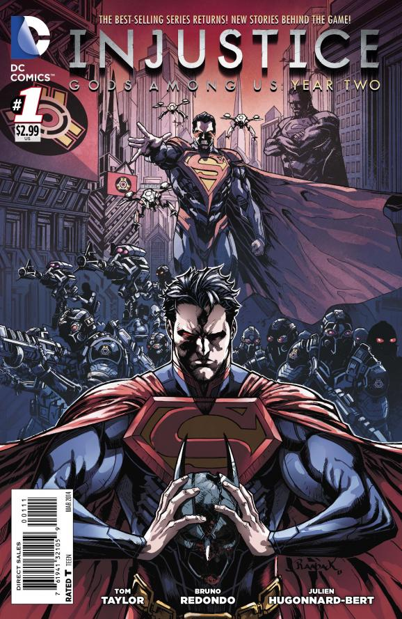 Injustice: Gods Among Us: Year Two Vol 1 1