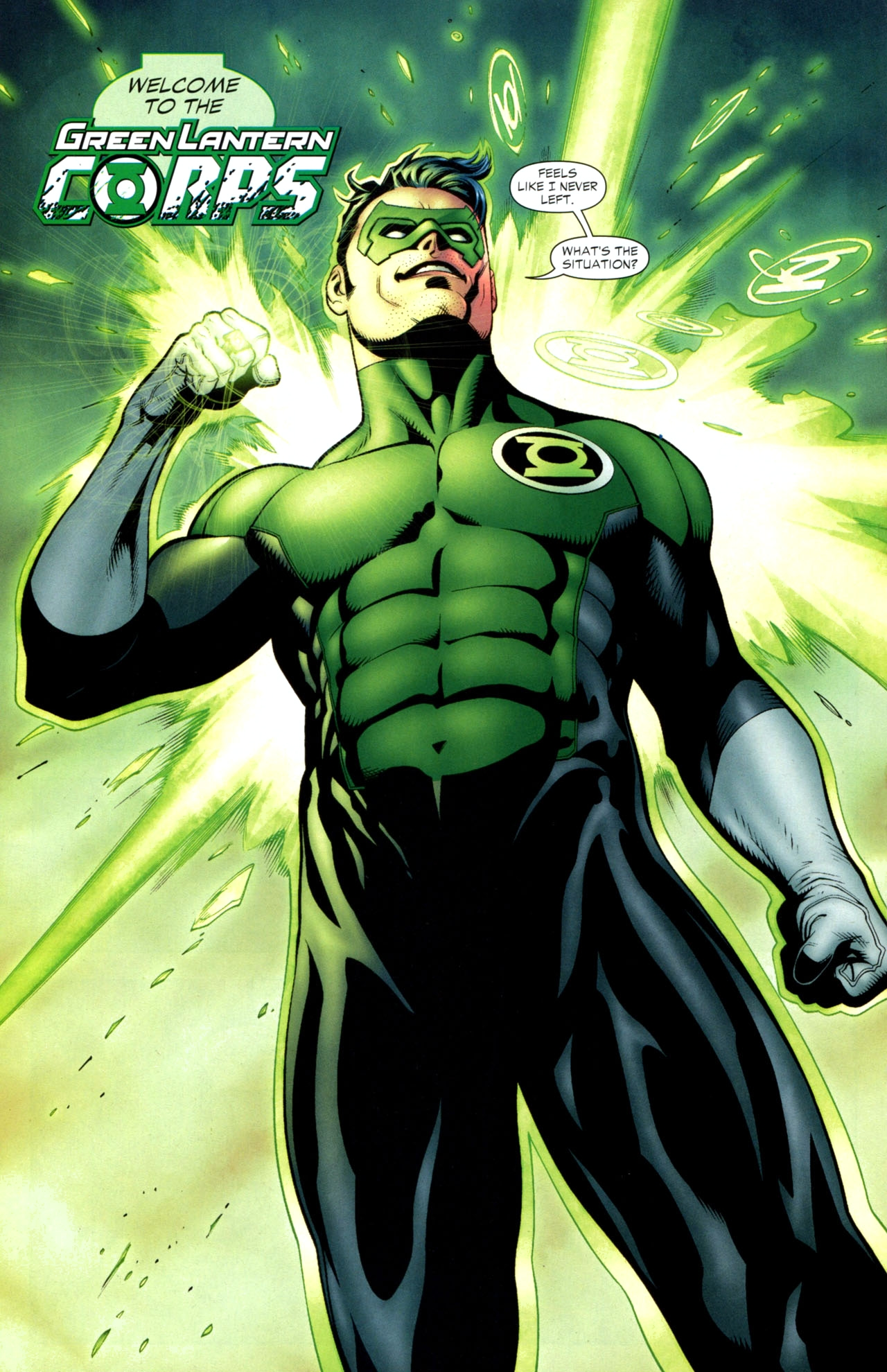 Kyle Rayner (New Earth)