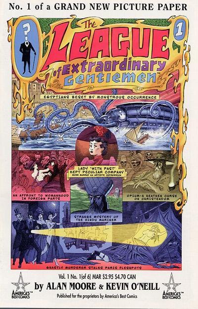 League of Extraordinary Gentlemen Vol 1 1
