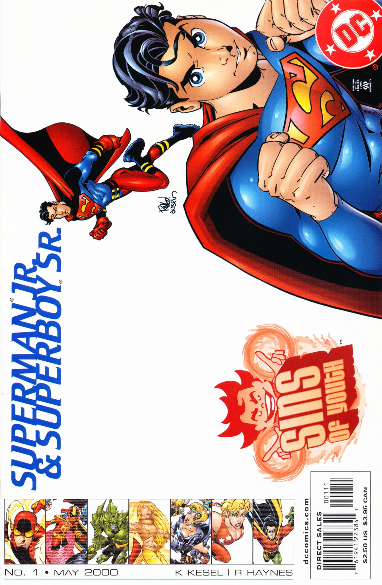 Sins of Youth: Superman, Jr. and Superboy, Sr. Vol 1 1