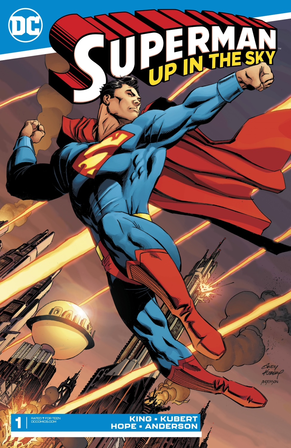 Superman: Up in the Sky Vol 1 1