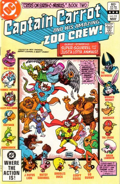 Captain Carrot and His Amazing Zoo Crew Vol 1 15