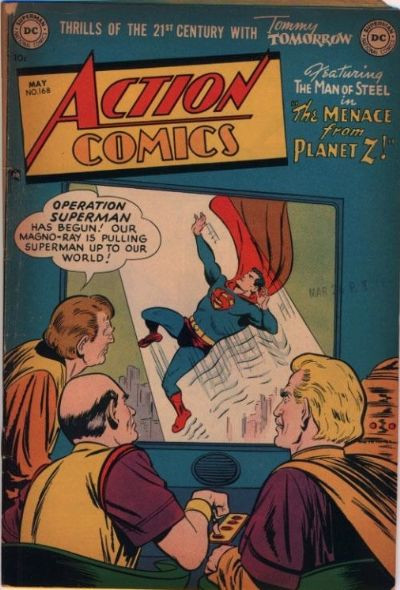 Action Comics Vol 1 168