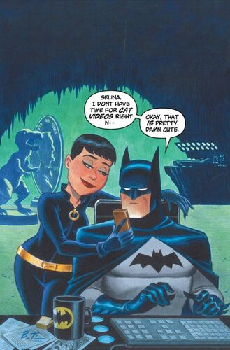 Textless Bruce Timm Variant