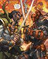Deathstroke Vs Ra's al Ghul 001