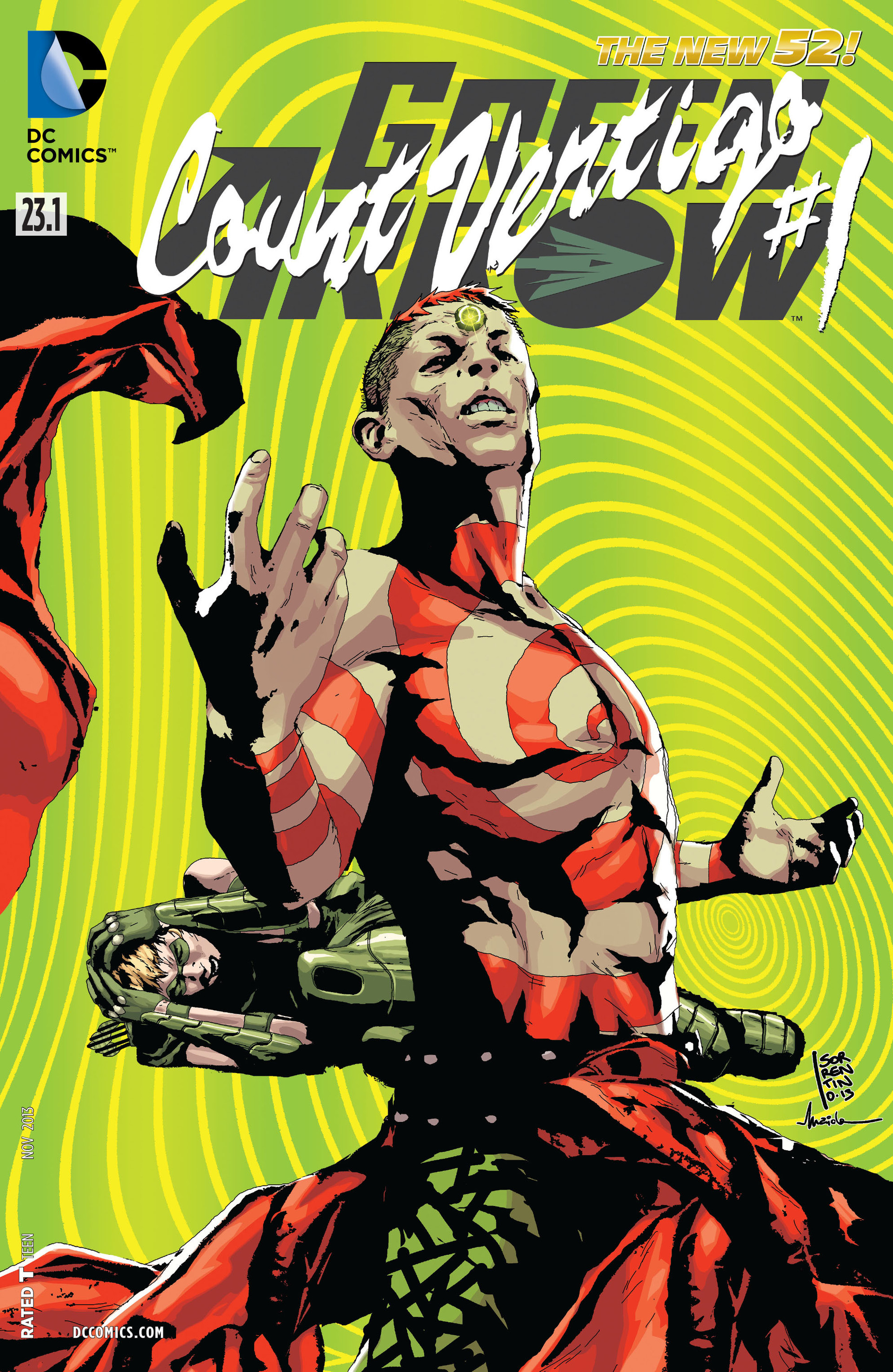 Green Arrow Vol 5 23.1: Count Vertigo
