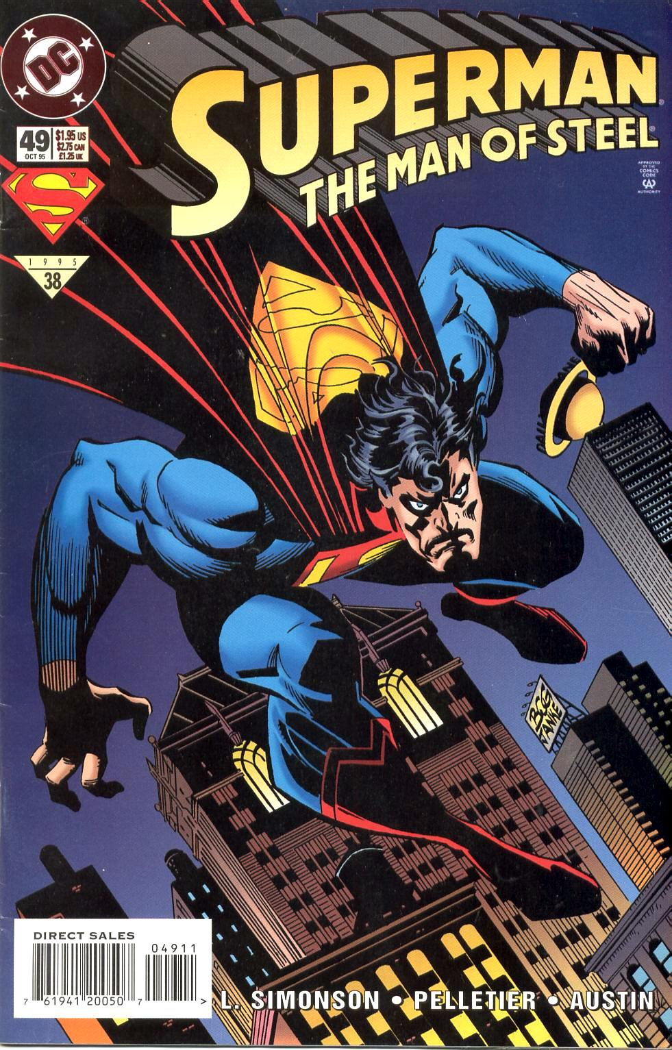 Superman: The Man of Steel Vol 1 49