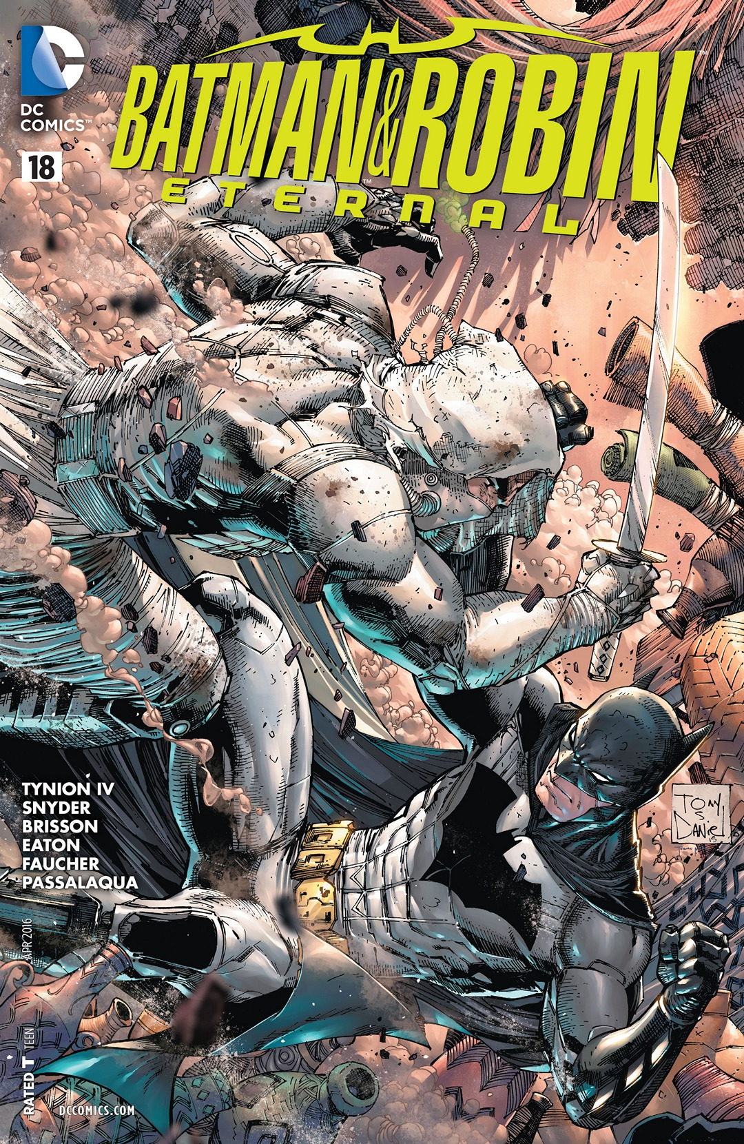 Batman & Robin Eternal Vol 1 18
