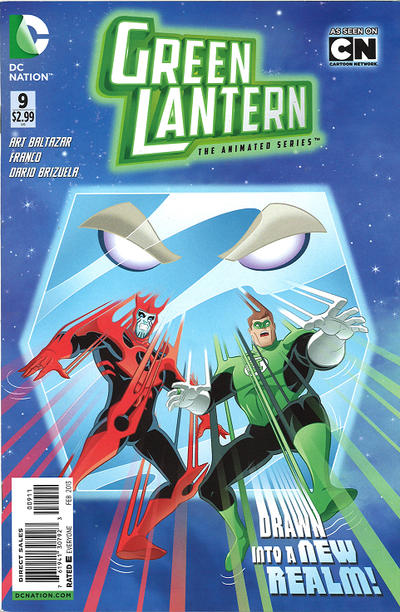 Green Lantern: The Animated Series Vol 1 9
