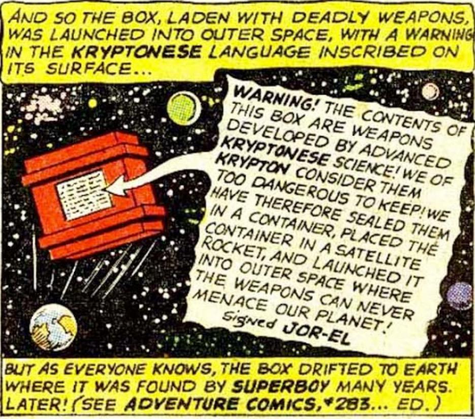 Kryptonian Weaponry Cache