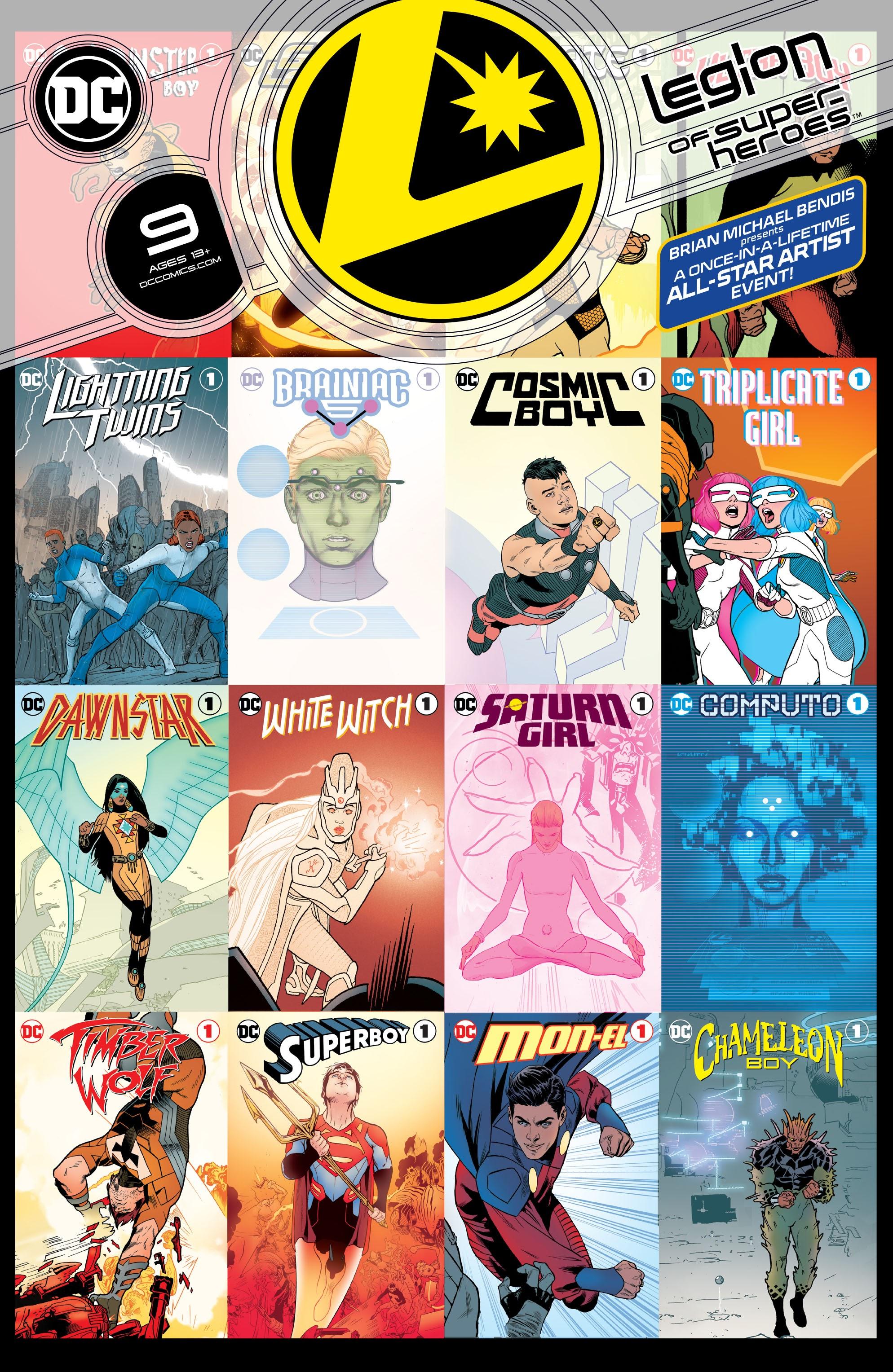 Legion of Super-Heroes Vol 8 9