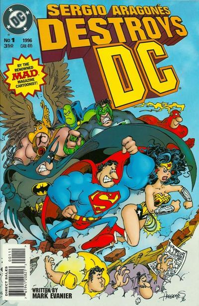 Sergio Aragones Destroys DC Vol 1 1