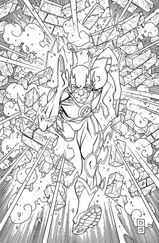 Textless Adult Coloring Book Variant
