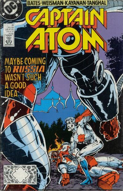 Captain Atom Vol 2 31