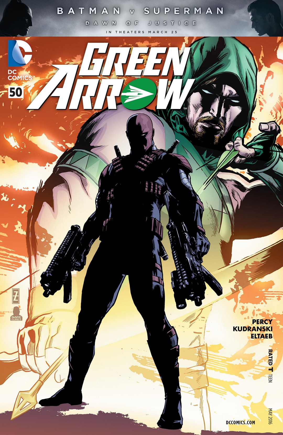 Green Arrow Vol 5 50