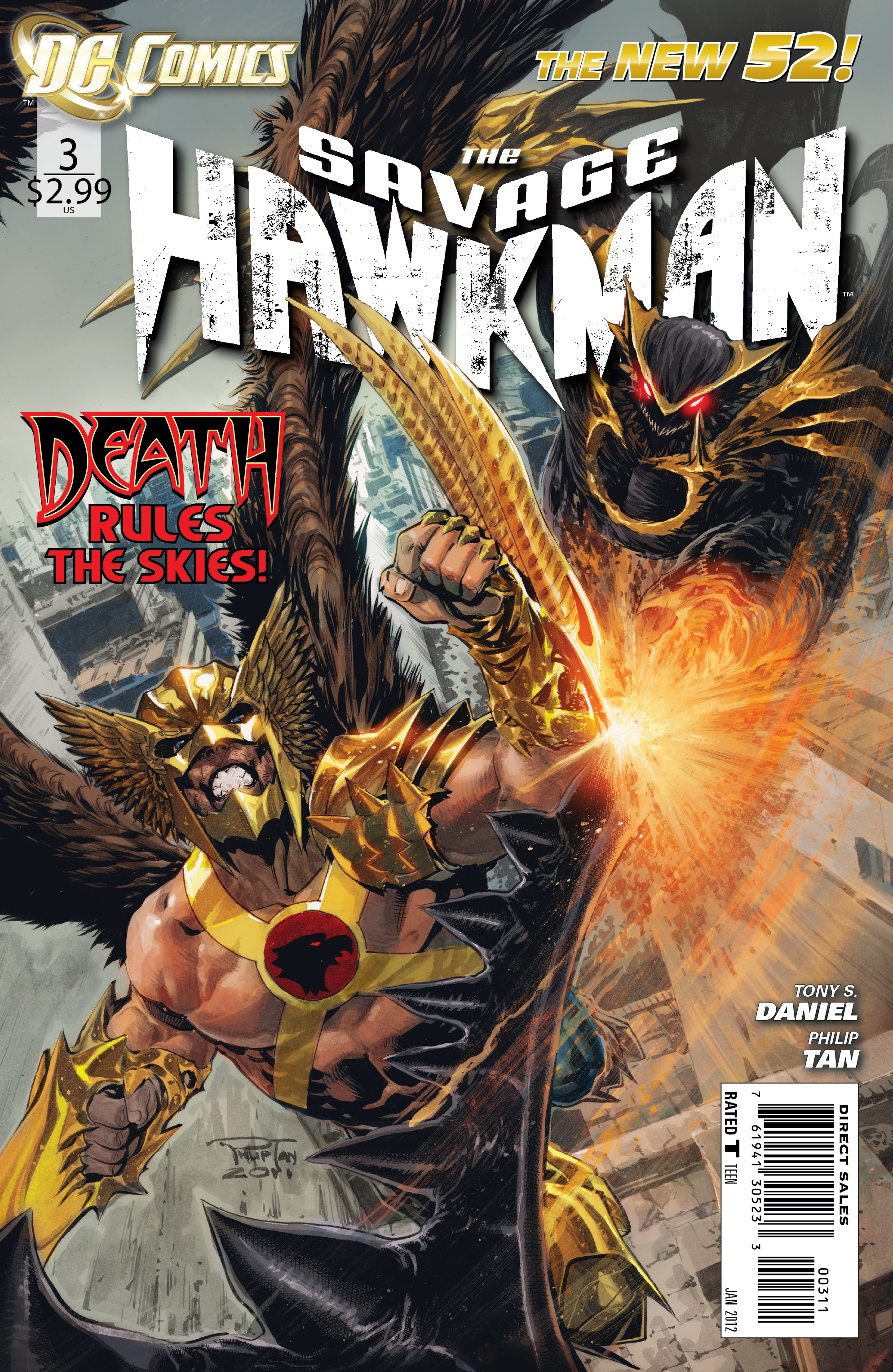 Savage Hawkman Vol 1 3