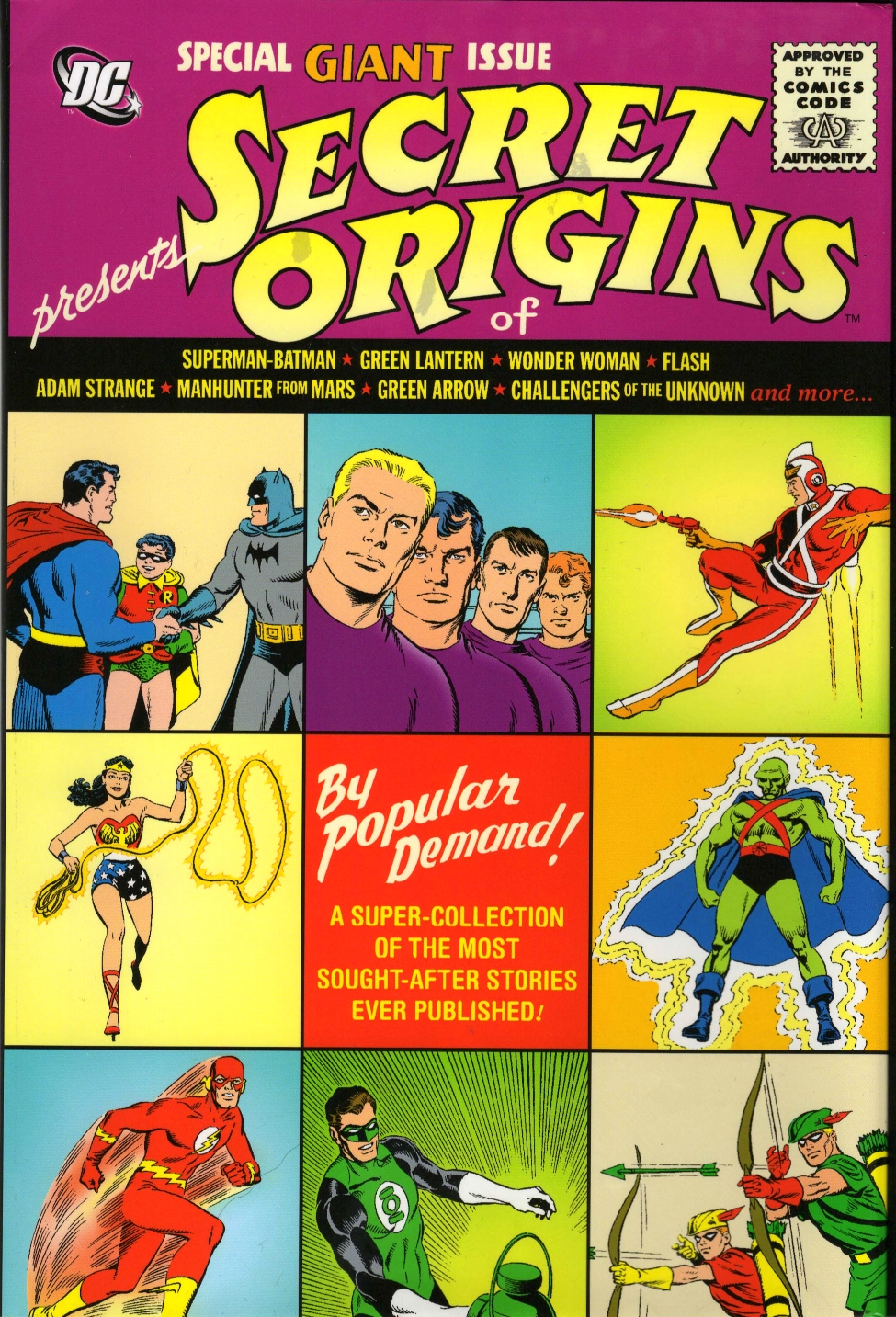 DCU: Secret Origins (Collected)
