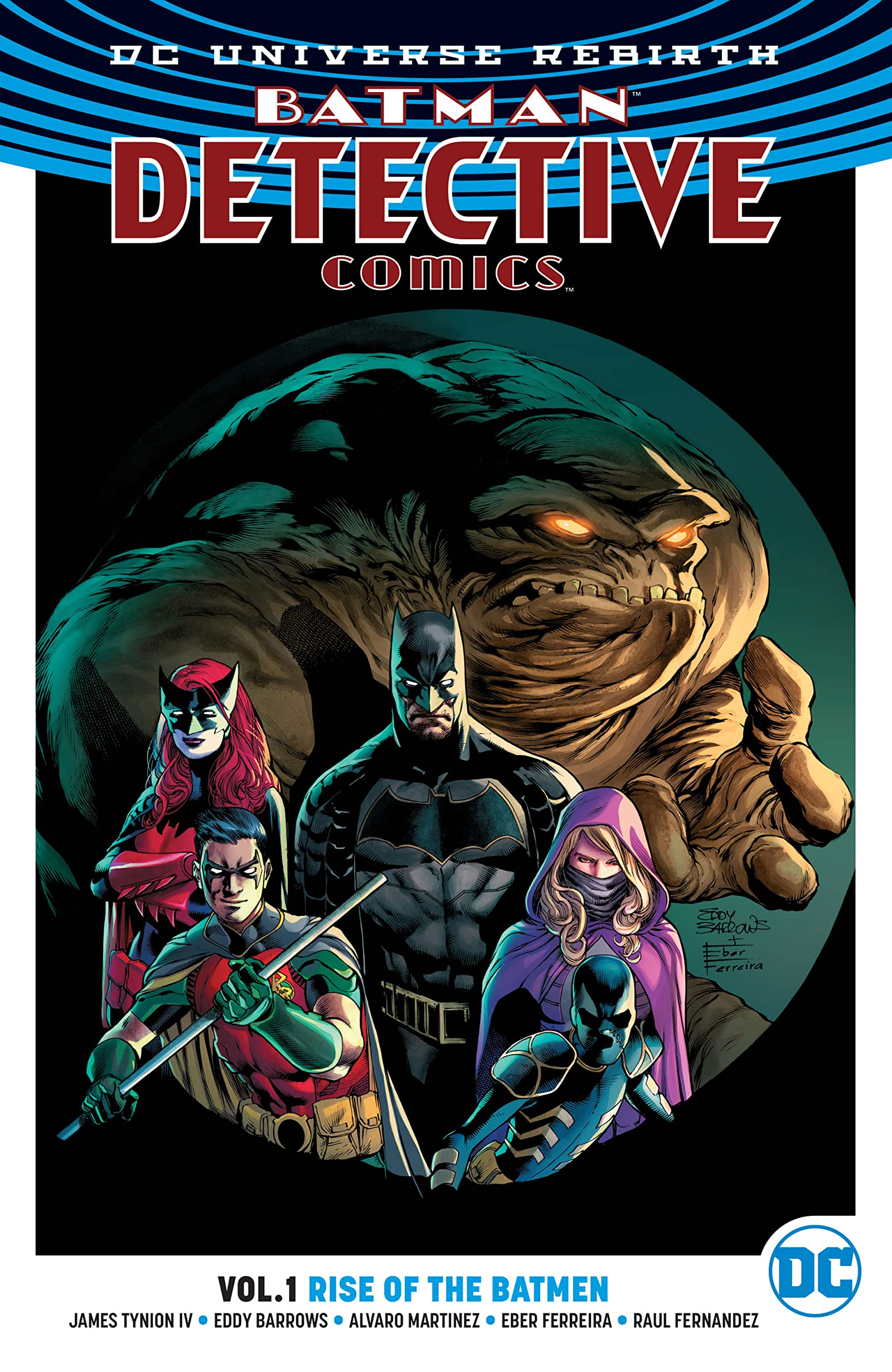 Detective Comics: Rise of the Batmen (Collected)